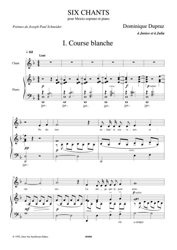 Six Chants