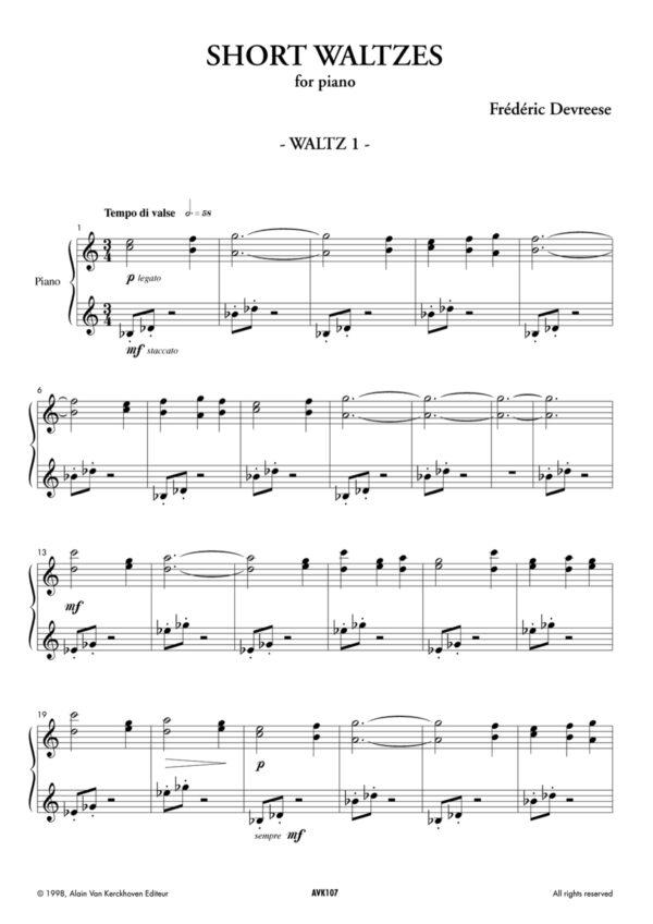 Short Waltzes
