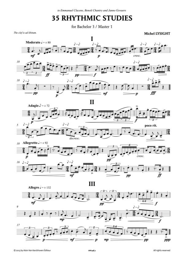 35 Rhythmic Studies